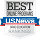 Best Online Programs US News & World Report badge